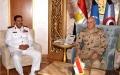 الصورة: مصر والبحرين تبحثان تعزيز  التعاون العسكري