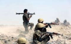 الصورة: قوات الحزام الأمني تنتشر في الضالع