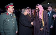 الصورة: ولي العهد السعودي يصل واشنطن في زيارة رسمية