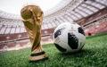 الصورة: كرة مباراة السعودية وروسيا تبدأ رحلتها للفضاء