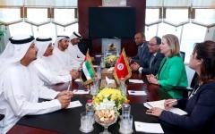 الصورة: «الاقتصاد» تبحث تطوير التعاون مع تونس في السياحة والاستثمار