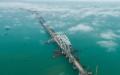 الصورة: بالفيديو.. معجزة هندسية تصل القرم بروسيا قبل الموعد