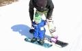 الصورة: بالفيديو.. بعد شهرين من تعلمه المشي.. رضيع يذهل والديه بالتزلج على الجليد