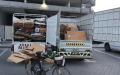 الصورة: بلدية الشارقة تضبط 6 أطنان ألواح كرتونية من مركبات مخالفة