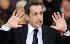 الصورة: الإفراج عن الرئيس الفرنسي الأسبق ساركوزي