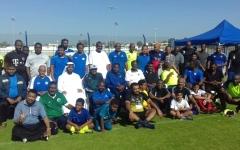 الصورة: «الإمارات» يستضيف نجوم الرياضة السودانية