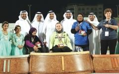 الصورة: 9 ميداليات جديدة لأصحاب الهمم في «ملتقى الشارقة»