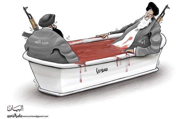 الصورة: إيران.. سوريا.. حزب الله