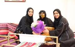الصورة: نورة السويدي:الشيخة فاطمة تبذل كل جهد لإسعاد الأم الإماراتية