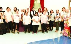 الصورة: طلبة «راشد لأصحاب الهمم» يزورون السفارات والبعثات الدبلوماسية