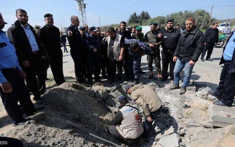 الصورة: حماس تعلن مقتل المطلوب الرئيسي في تفجير موكب الحمد الله