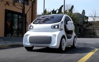 الصورة: أول سيارة كهربائية بتقنية (3D) في الأسواق ابريل 2019