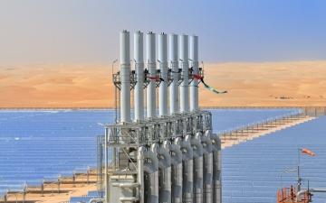 الصورة: «شمس 1».. 5 سنوات تؤكد ريادة الإمارات في الطاقة المتجدّدة