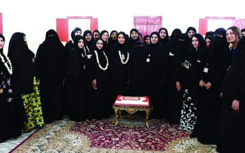 الصورة: نادي تراث الإمارات ومدينة الشيخ خليفة الطبية يحتفيان بيوم الأم