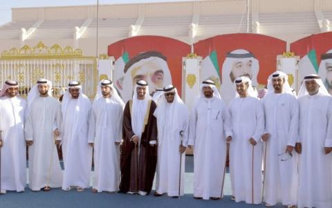 الصورة: سلطان بن زايد يحضر أفراح المشغوني والكتبي