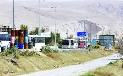 الصورة: آلاف المدنيين يغادرون جحيم الغوطة
