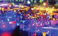 الصورة: مهرجان «أم الإمارات» ينطلق بعرض للألعاب النارية