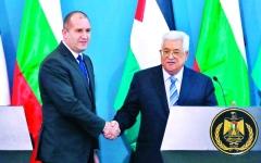 الصورة: عباس يجدّد الدعوة إلى عقد مؤتمر دولي للسلام
