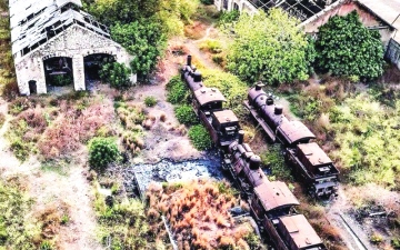 الصورة: لبنان: القطار في بيروت.. وحكاية «مطارِح» منسيّة على السكّة