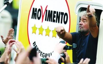 الصورة: إيطاليا: غريللو .. الفكاهي الذي زلزل عالم السياسة في روما
