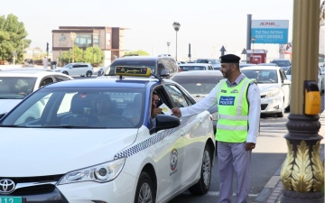 """الصورة: شرطة عجمان تطلق مبادرة """"سعادة بلا مخالفات"""""""