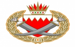 الصورة: ضبط 7 متهمين بإحراق دورية أمنية في البحرين