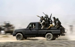 الصورة: قوات التحالف تدمر زورقين مفخخين لميليشيات الحوثي الإيرانية