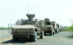 الصورة: الجيش اليمني ينتزع مواقع استراتيجية من الحوثيين في محور الشريجة بين لحج وتعز