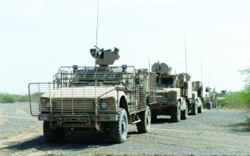 الصورة: الجيش اليمني ينتزع مواقع استرايجية من الحوثيين في محور الشريجة بين لحج وتعز