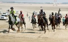 الصورة: علياء تهدي «ام.آر. ام» لقب سباق القدرة للسيدات