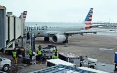 الصورة: مسافرو الطائرات في أميركا بأعلى مستوى