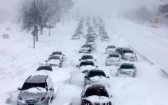 الصورة: السيارات ذاتية القيادة تتعلم الرؤية وسط الثلوج في كندا