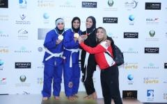 الصورة: العين بطل «أم الإمارات» لجوجيتسو السيدات