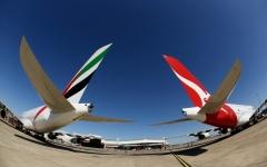 الصورة: تمديد تحالف طيران الإمارات و«كوانتاس» 5 سنوات