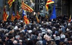 الصورة: اتهامات العصيان تلاحق قادة كتالونيا