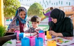 الصورة: مرح لكل أفراد الأسرة في مهرجان «أم الإمارات»