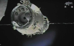 الصورة: محطة فضاء صينية تخرج عن السيطرة وتتجه نحو الأرض
