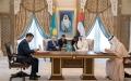 الصورة: محمد بن زايد ورئيس كازاخستان يشهدان توقيع عدد من الاتفاقيات ومذكرات التفاهم بين البلدين