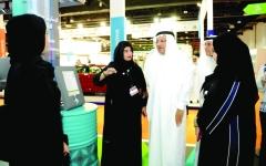 الصورة: مشاركة مميزة لـ«صحة دبي» في معرض الوظائف