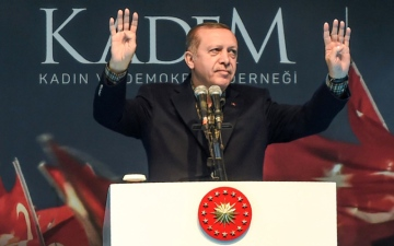 الصورة: صمت أردوغان عن نشاط الدوحة النفطي في قبرص يغضب الأتراك