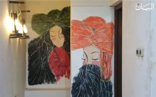 """الصورة: """"سكة الفن"""" مبدعات إماراتيات يستلهمن من الثقافة والتراث"""