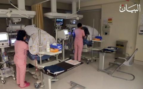 الصورة: في أبوظبي مستشفى لا يدخله إلا النساء!