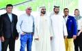 الصورة: محمد بن راشد يشهد  قرعة كأس دبي العالمي