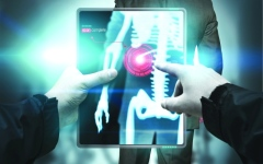 الصورة: جهاز إلكتروني لرصد مشتقات خلوية تكشف عن خلايا سرطانية بالجسم