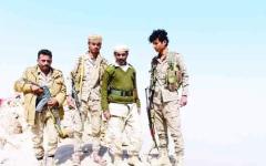 الصورة: السعودية تعترض باليستياً فوق نجران