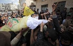 الصورة: إضراب شامل يعم الأراضي الفلسطينية