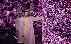 الصورة: حمدان بن محمد: نعمل على تحويل دبي   إلى مركز عالمي لصناعة المستقبل
