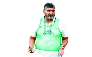 الصورة: محمد قويض:  تغيير المدربين أصبح عادة ولا يهدف للمصلحة