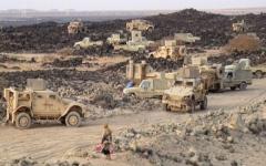 الصورة: الجيش اليمني يحرر مواقع جديدة في صعدة