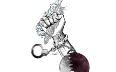 الصورة: خليفة بن حمد عن «الحمدين»: خائنون ومروّجو إشاعات سوداء وعصابة غدر وخوف